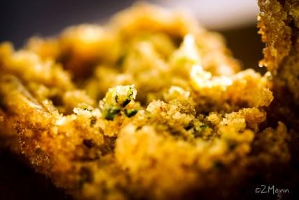 widokiem na stół | cytrynowe muffiny z cukinii