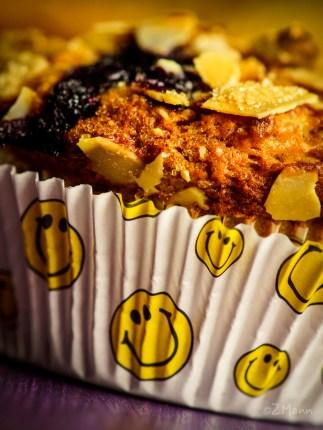 jabłkowe muffiny z borówkami amerykańskimi