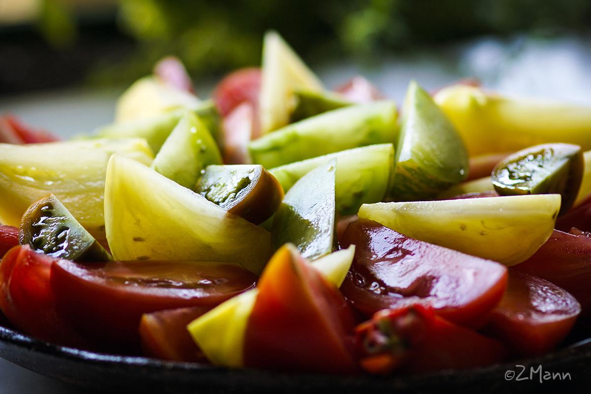 z widokiem na stol | pomidory dawnych odmian