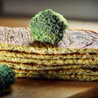 chlebek brokułowy { bez mąki . bez glutenu }