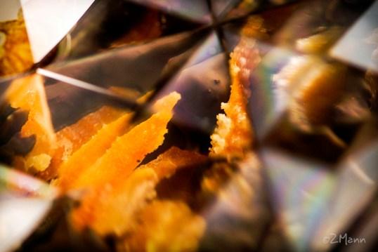 z widokiem na stół | domowa skórka pomarańczowa