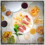 z widokiem na stół   zapiski podróżne Elba   toskańskie śniadanie