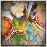 z widokiem na stół | zapiski podróżne Elba | jedzenie na mieście