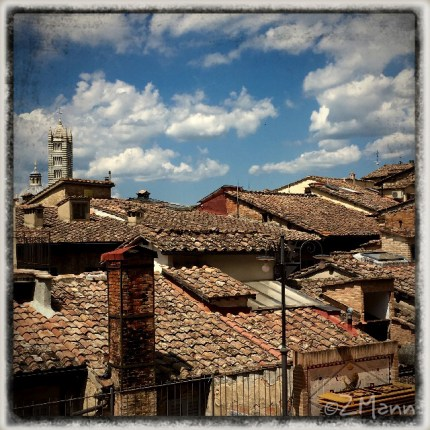 z widokiem na stół   |   zapiski podróżne Elba   |   w drodze: Siena