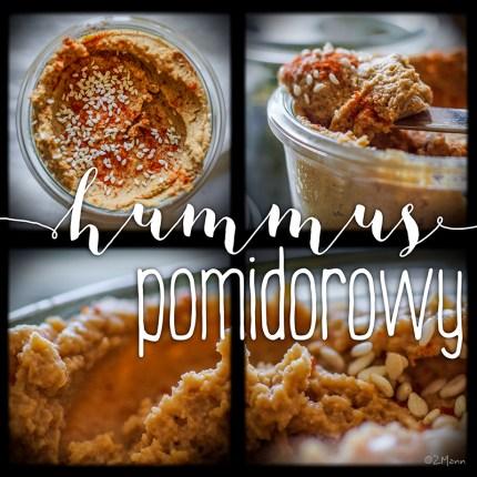 z widokiem na stół   |   hummus pomidorowy