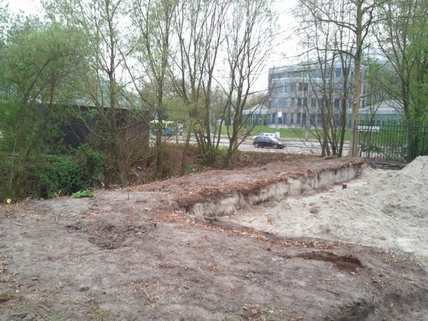 Start bouwrijp maken Begraafplaats Buitenveldert
