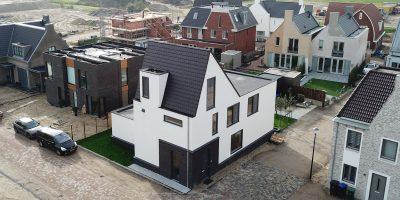 abcoude kavel architect moderne woning land van winkel