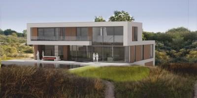 landgoed sancta maria architect voorbeeld villa kavel duinen