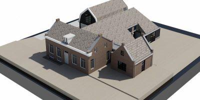 verbouw boerderij amsterdam architect amstelland