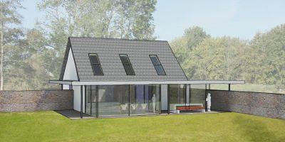 moderne verbouw woning