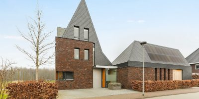 kavel architect moderne woning villa Almere