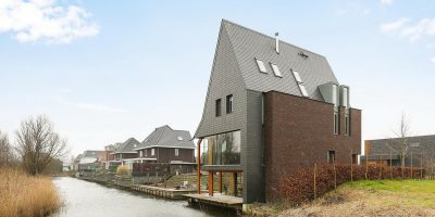 kavel architect moderne woning villa architekt