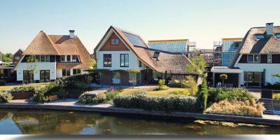 luxe moderne villa architect rieten kap kavel