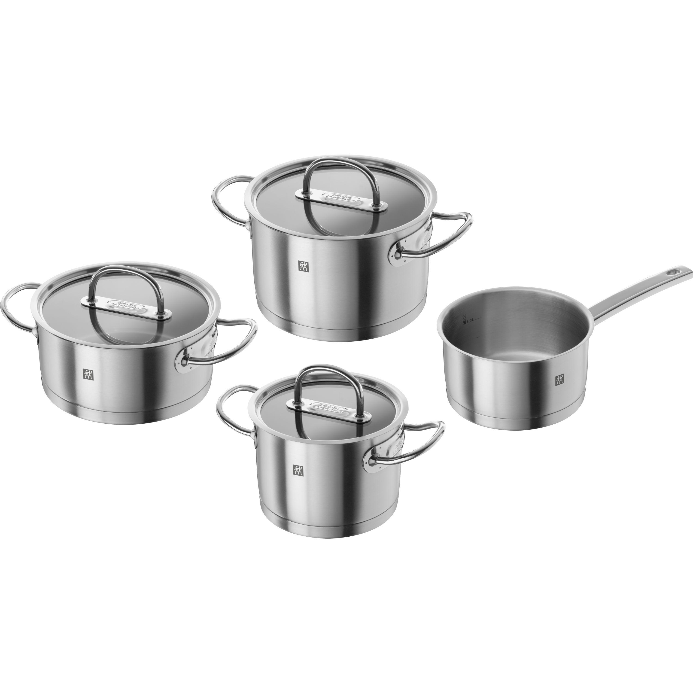 ensemble de casseroles 4 pcs inox 18 10