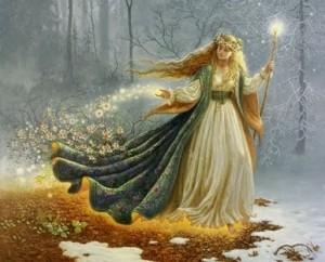 Freya -eine der grossen Göttinnen