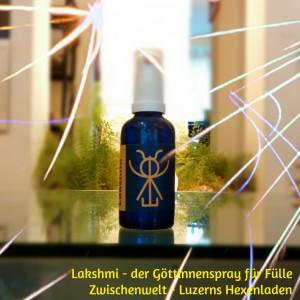 """Der Aura-Spray """"Lakshmi"""" unterstützt die richtige Resonanz"""