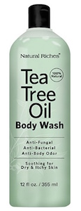 Natural Riches Antifungal TeaTree Oil Body Wash