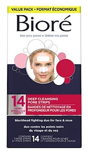 Biore Deep Cleansing Pore Strips for Nose & Face