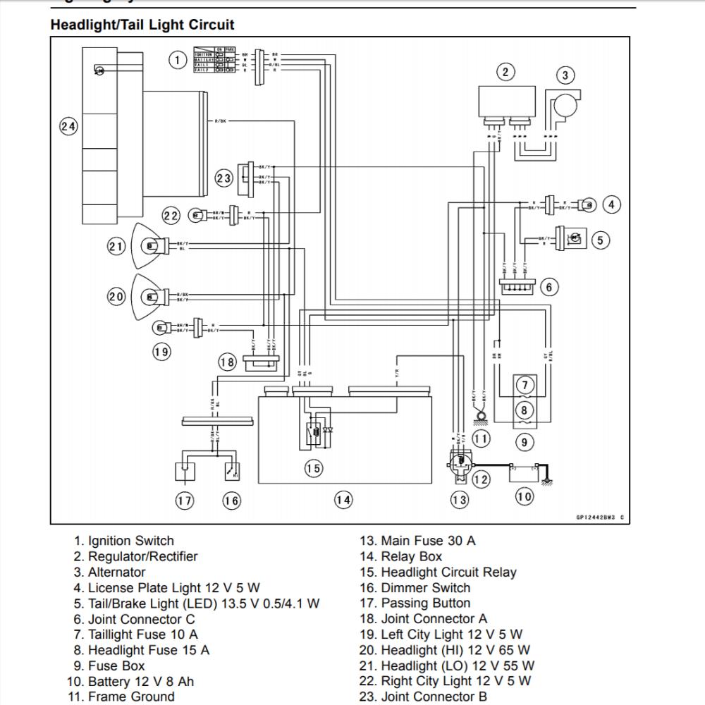 medium resolution of honda sl100 wiring diagram wiring diagram technicatc90 wiring diagram wiring libraryrectifier kawasaki 636 wiring schematics trusted