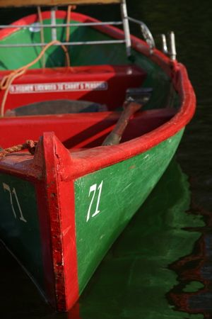 Boat on River Nidd, Knaresborough