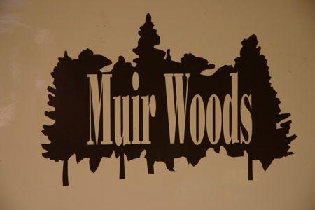 Muir Woods sign