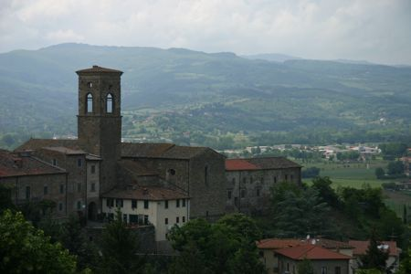 View of Poppi, Tuscany, Italy