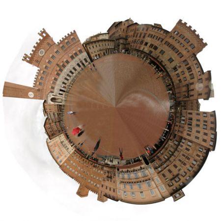 Siena Campo Circular Panorama