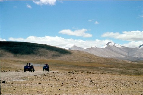 Rushhour on the Himalayas, Tibet