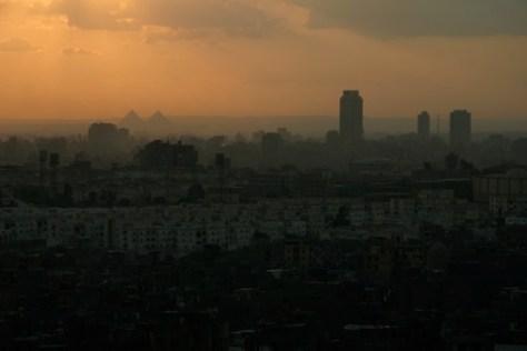 Cairo sunset, Egypt