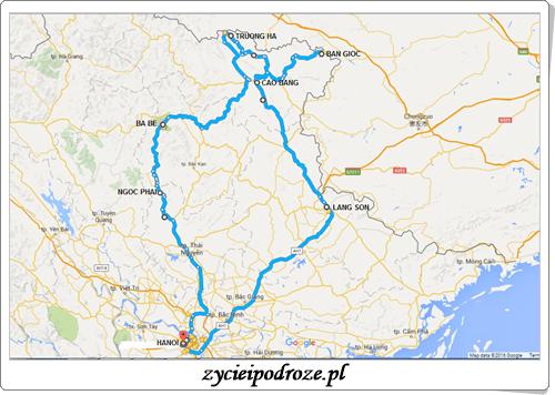 Mapa weekend majowy