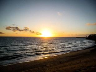 Fuertaventura zachód słońca
