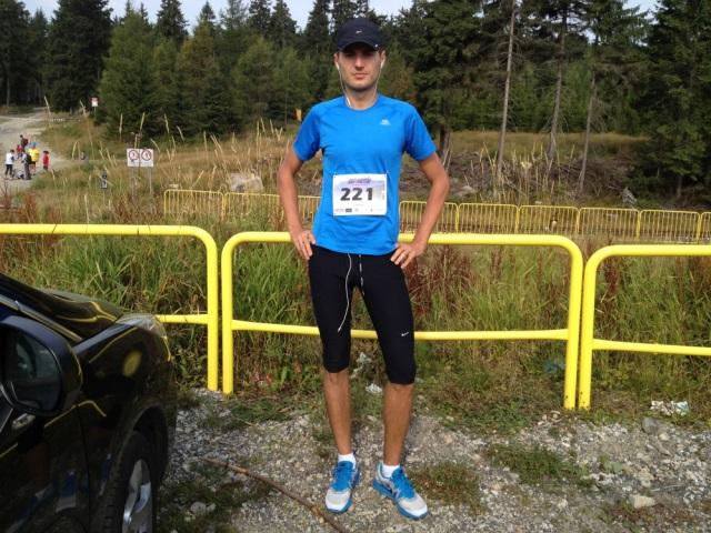Letni Bieg Piastow z numerem startowym