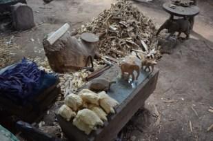 Drewniane figurki Kenia