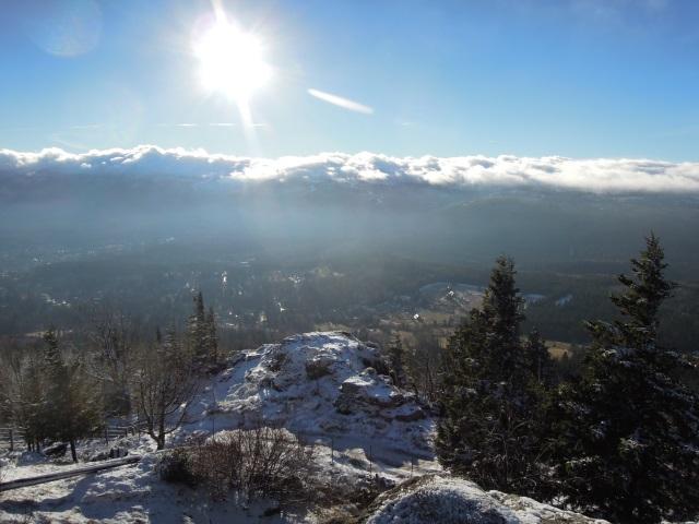 Widok z Wysokiego Kamienia Szklarska Poręba