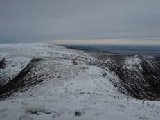 Widok ze Śnieżki