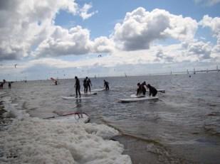Pierwsze wejście na deski windsurfingowe