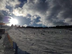 Zieleniec stok narciarski