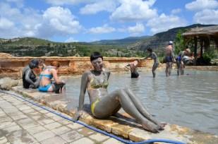 Błotna kąpiel Turcja