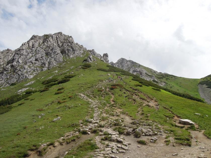 Wspinaczka na Giewont Tatry