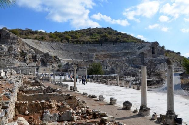 Efez Droga Arkadyjska Efez Turcja