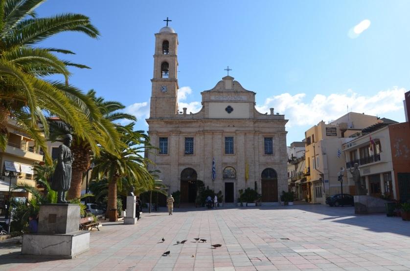 Klasztor w Chanii Kreta