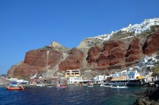 Port Oia Santorini