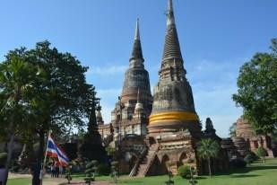 Ayutthaya Wat Yai Chai Mongkol Tajlandia
