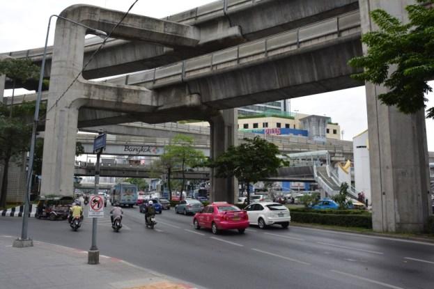 Bangkok Skytrain Tajlandia