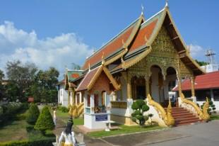 Chiang Mai Wat Chiang Mai z przodu Tajlandia