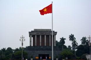 Hanoi Mauzoleum Ho Chi Minha Wietnam