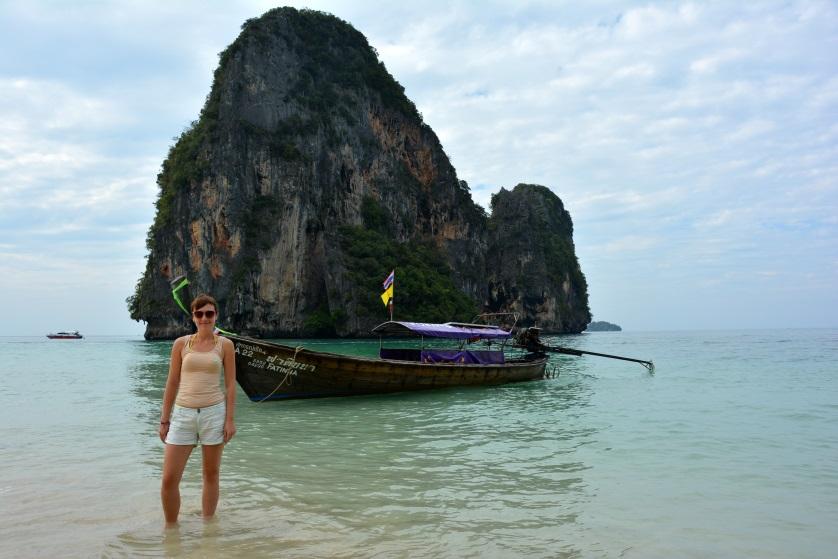 Phra Nang Cave Beach wysepka Tajlandia