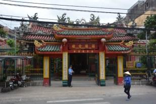 Sajgon dzielnica Cholon pagoda Wietnam