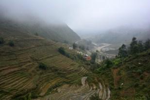 Sapa dolina pod mgłą Wietnam