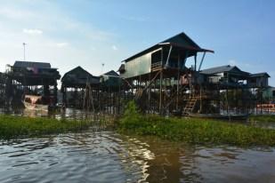 Tonle Sap Kompong Pluk Kambodża